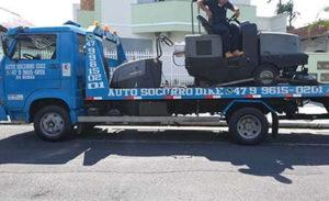 Transporte de Maquina de Limpeza